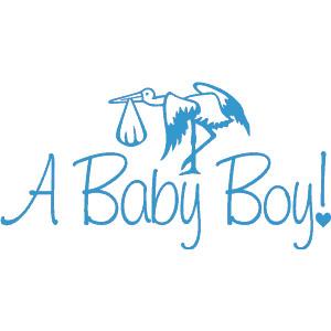 Boy Babies Clip Art.