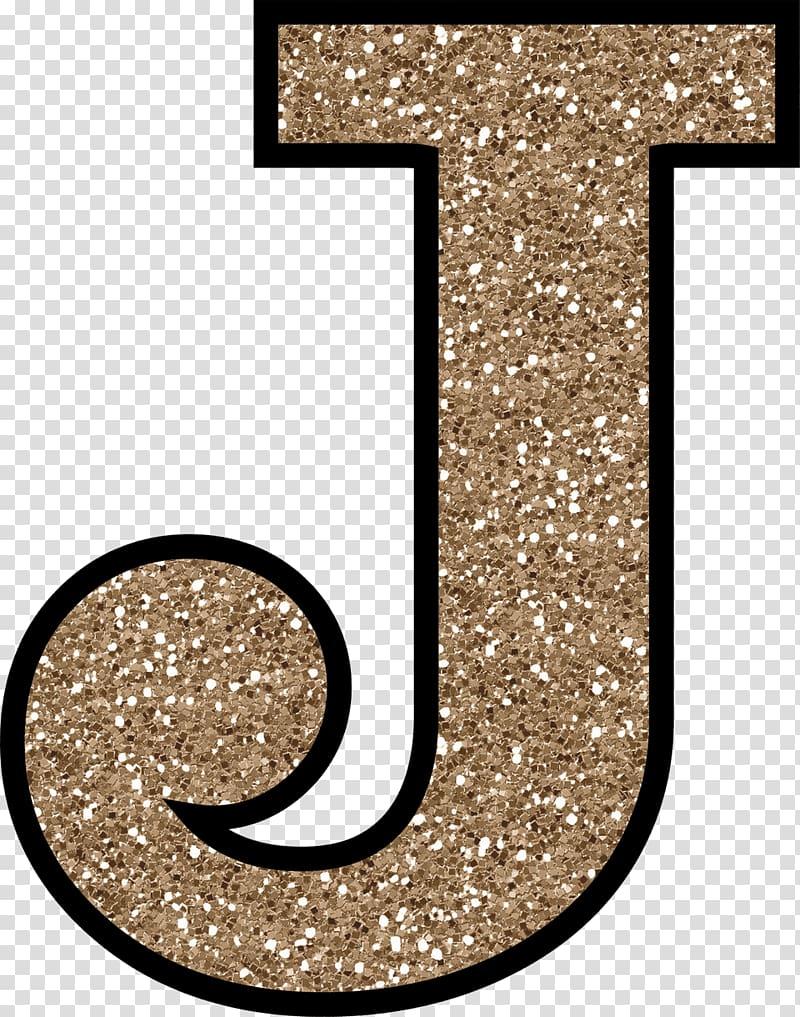 J logo, Letter J Glitter Alphabet, J transparent background.