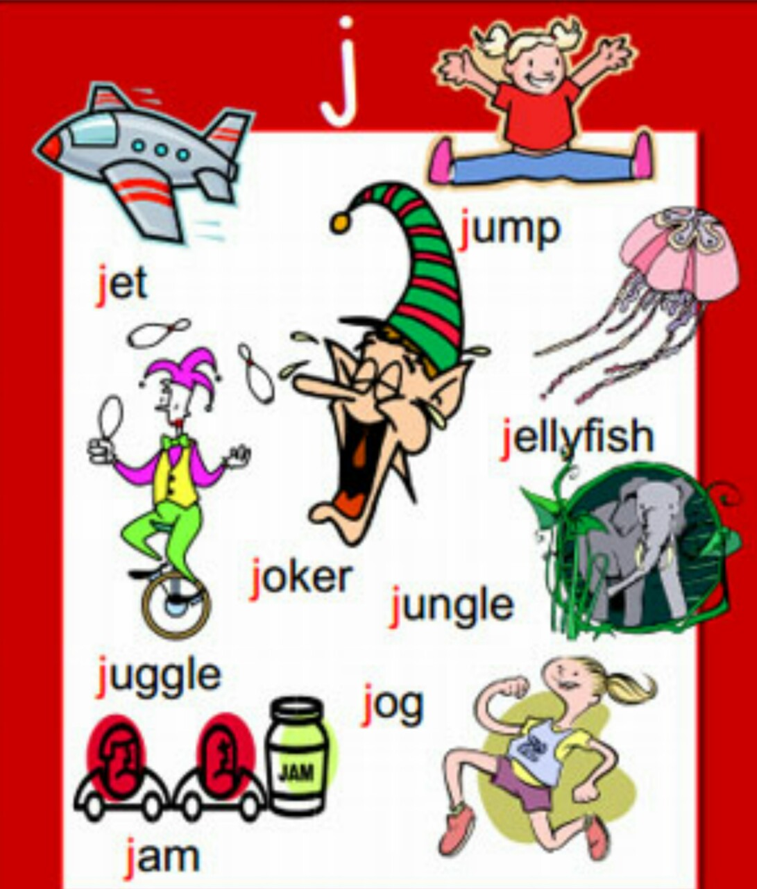 letters that start with j clipart j words clipground 40541