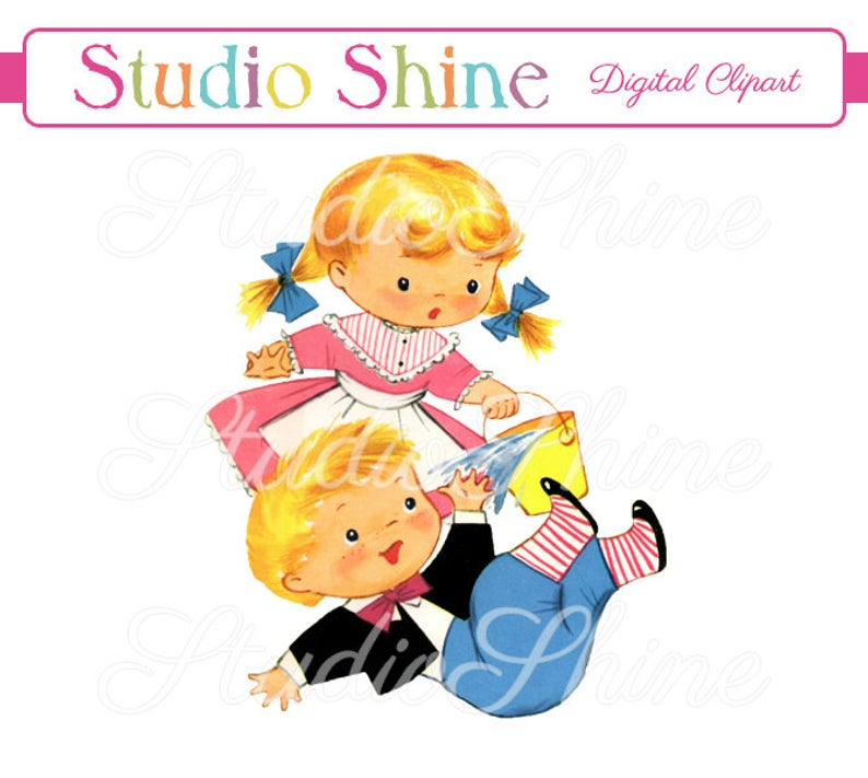Vintage Digital Clipart.