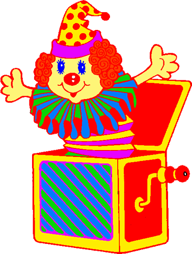 Jack In A Box Clipart.