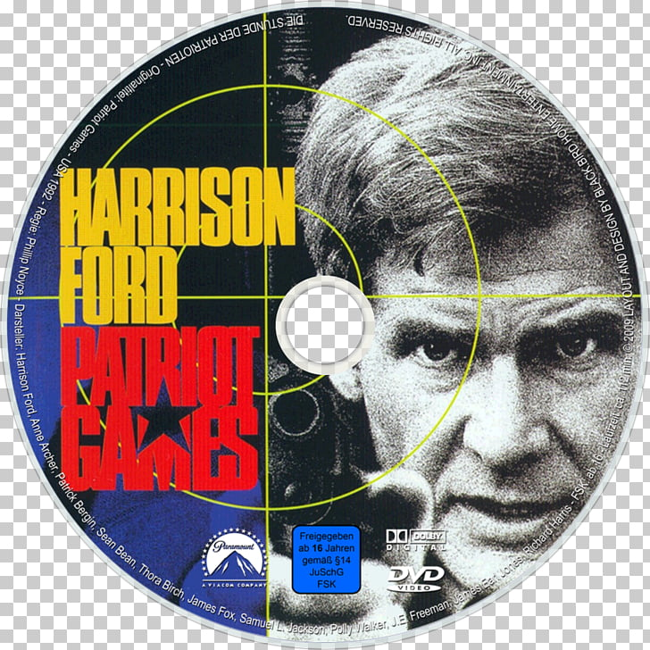 Harrison Ford Patriot Games Blu.
