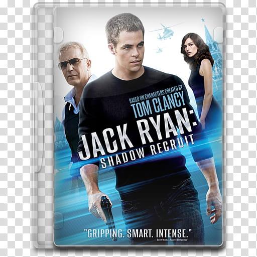 Movie Icon , Jack Ryan, Shadow Recruit transparent.