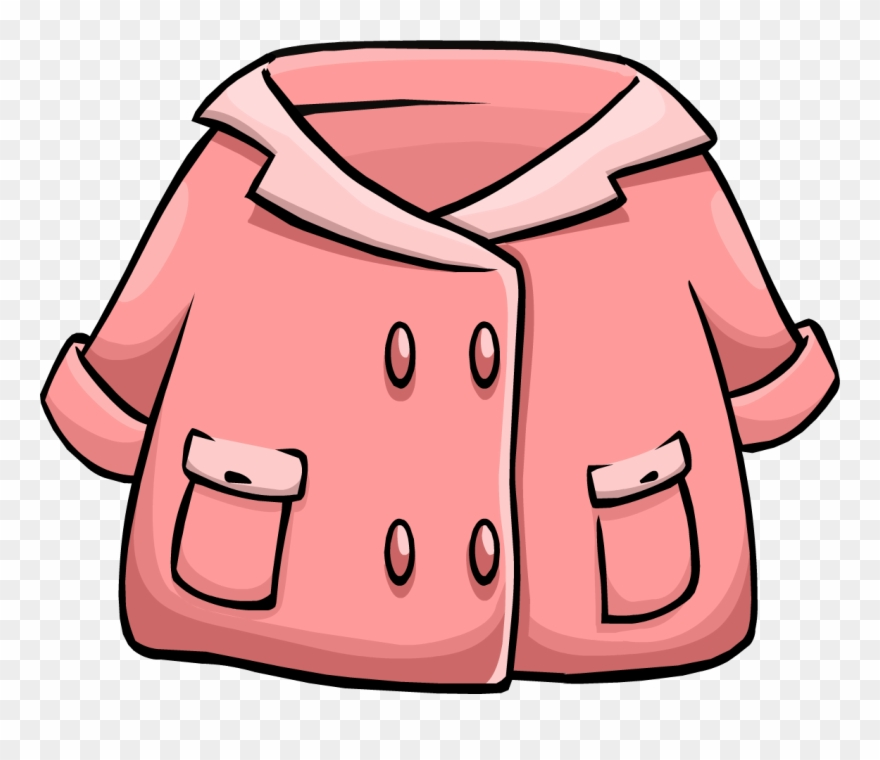 Jacket Clipart Pink Coat.