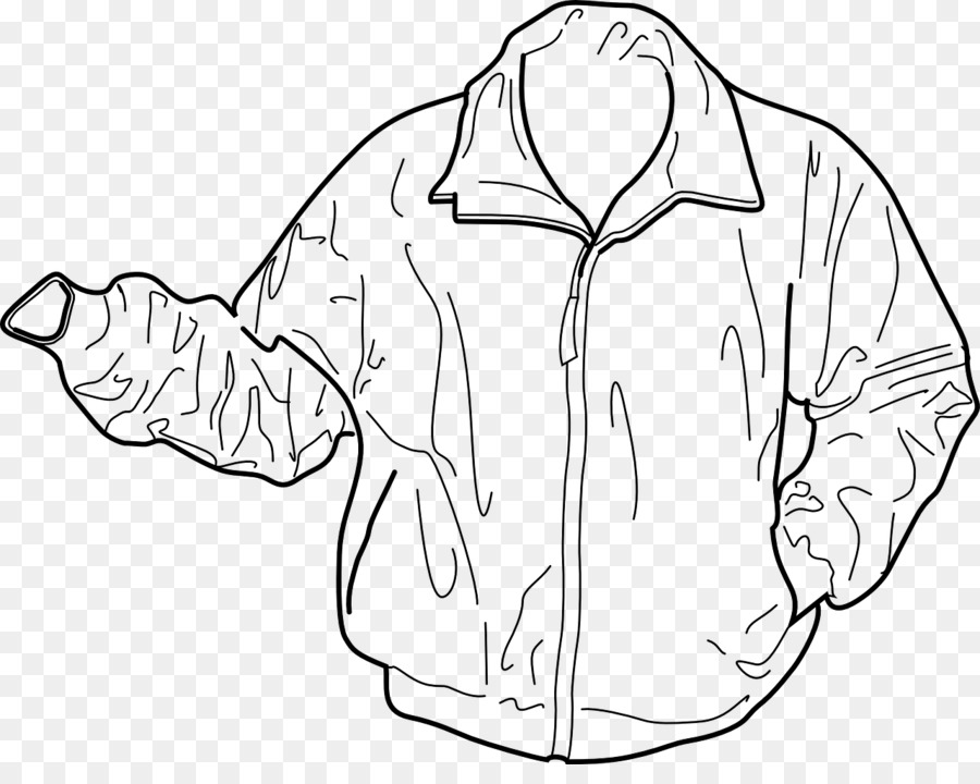 Jacket black and white clipart 3 » Clipart Station.