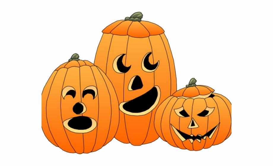Halloween Pumpkins Clipart.