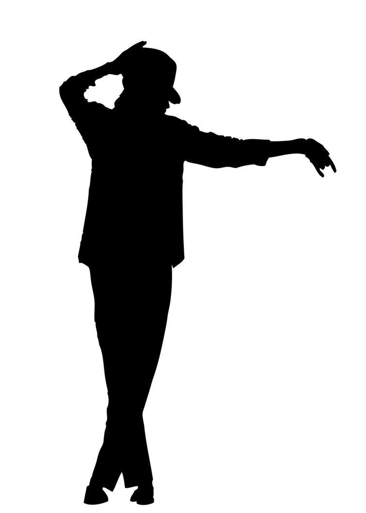 Michael Jackson Dance Silhouette.