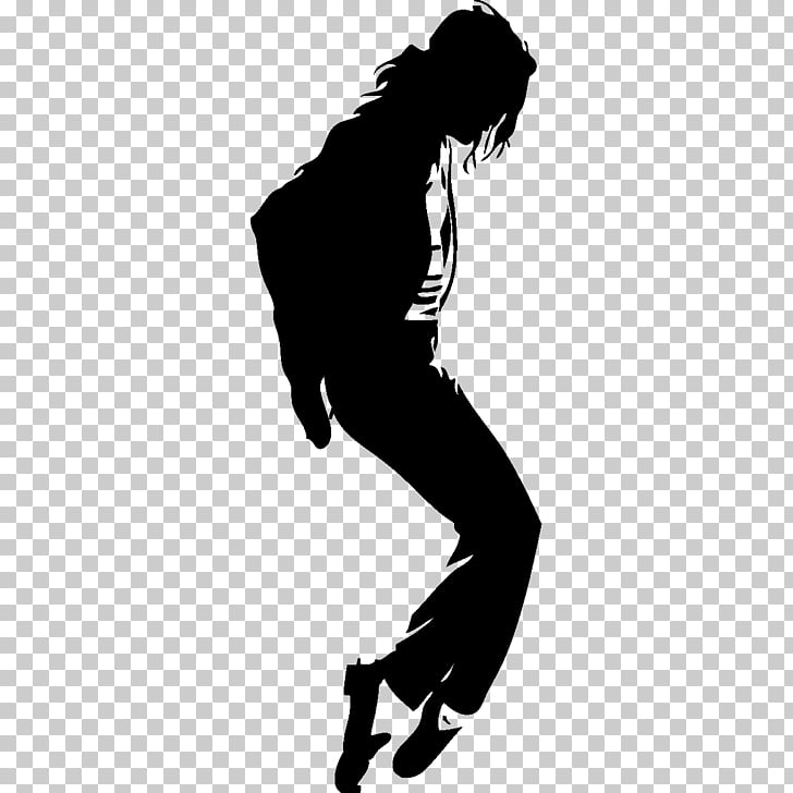 Free Silhouette Thriller Mural , michael jackson PNG clipart.