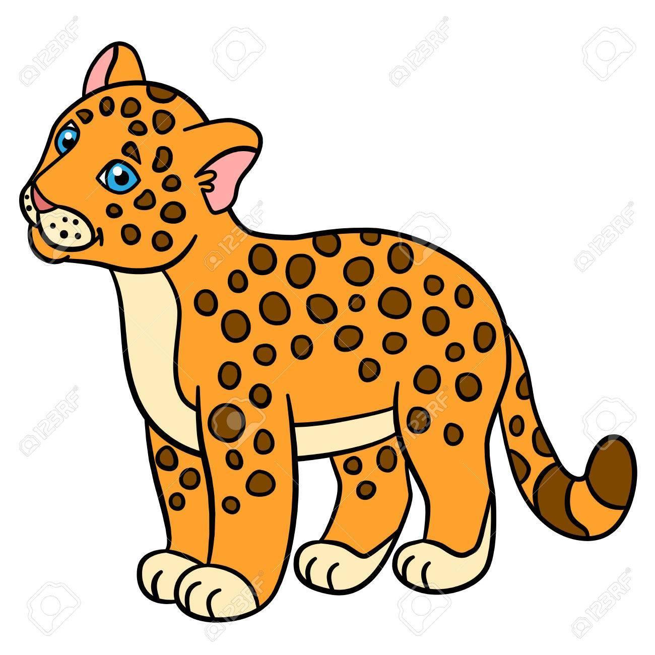 Library of jaguar cartoon vector transparent png files.