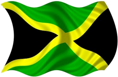 Jamaica Flag PNG Image.