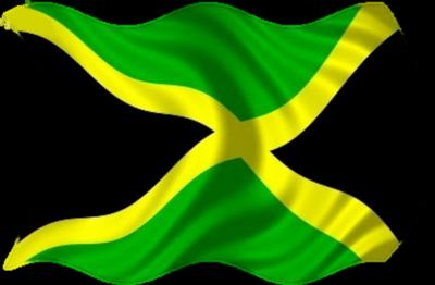 Jamaica Flag PNG Image.
