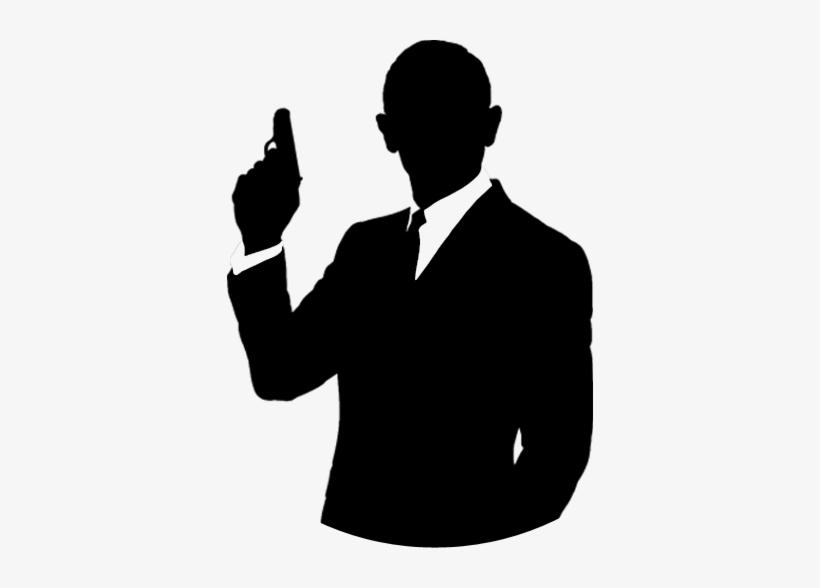 Pin James Bond Clipart.