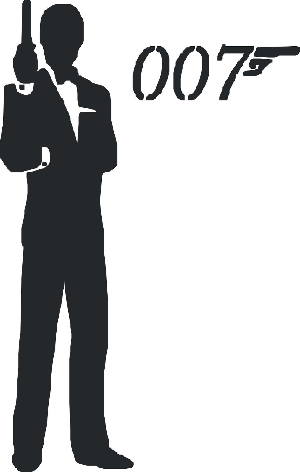 5+ James Bond Clipart.