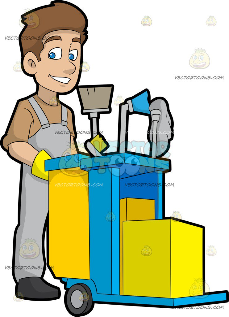 Clipart janitor 7 » Clipart Station.