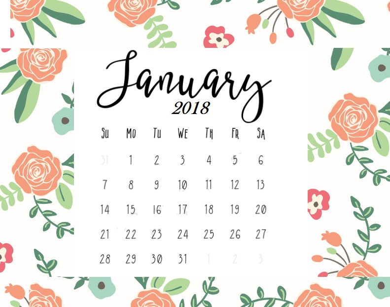 January clipart january 2018, January january 2018.