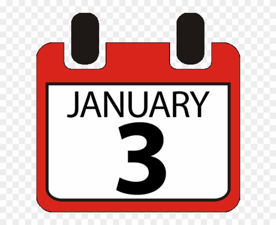 3rd January Calendar.