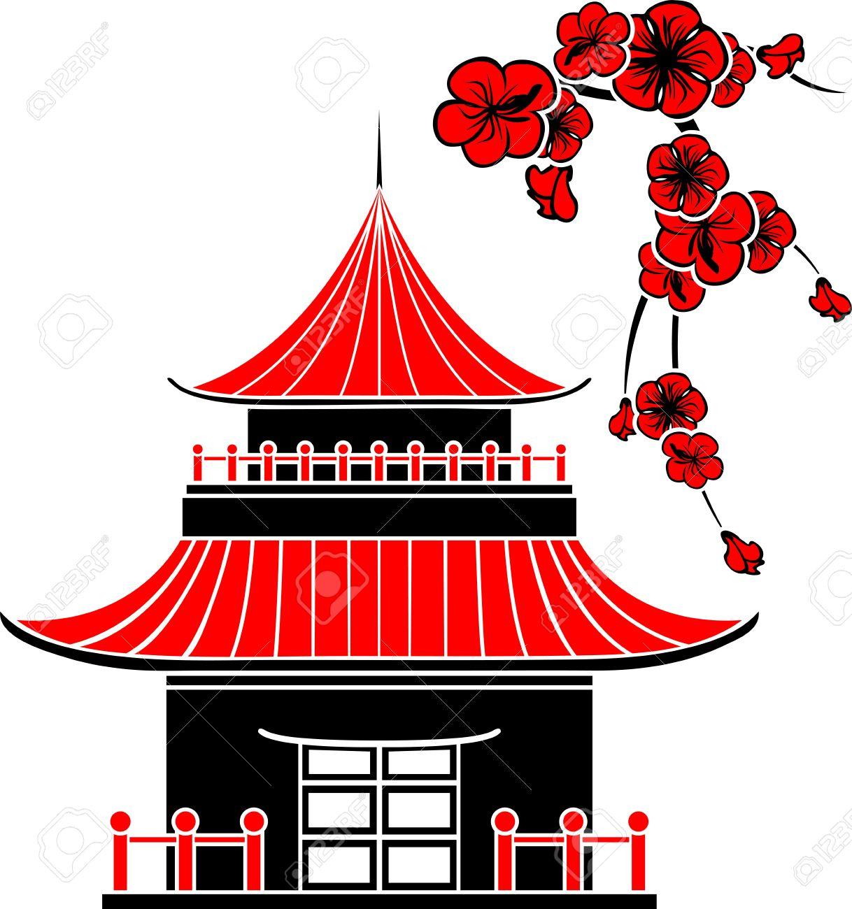 1177 Japan free clipart.