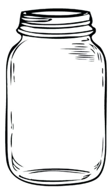 Clipart Jar Mason Of Sweets.