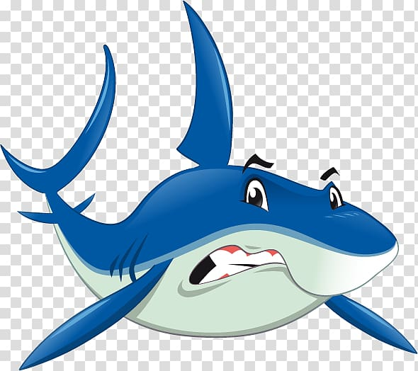 Shark Jaws Benthic zone, Cartoon shark transparent.