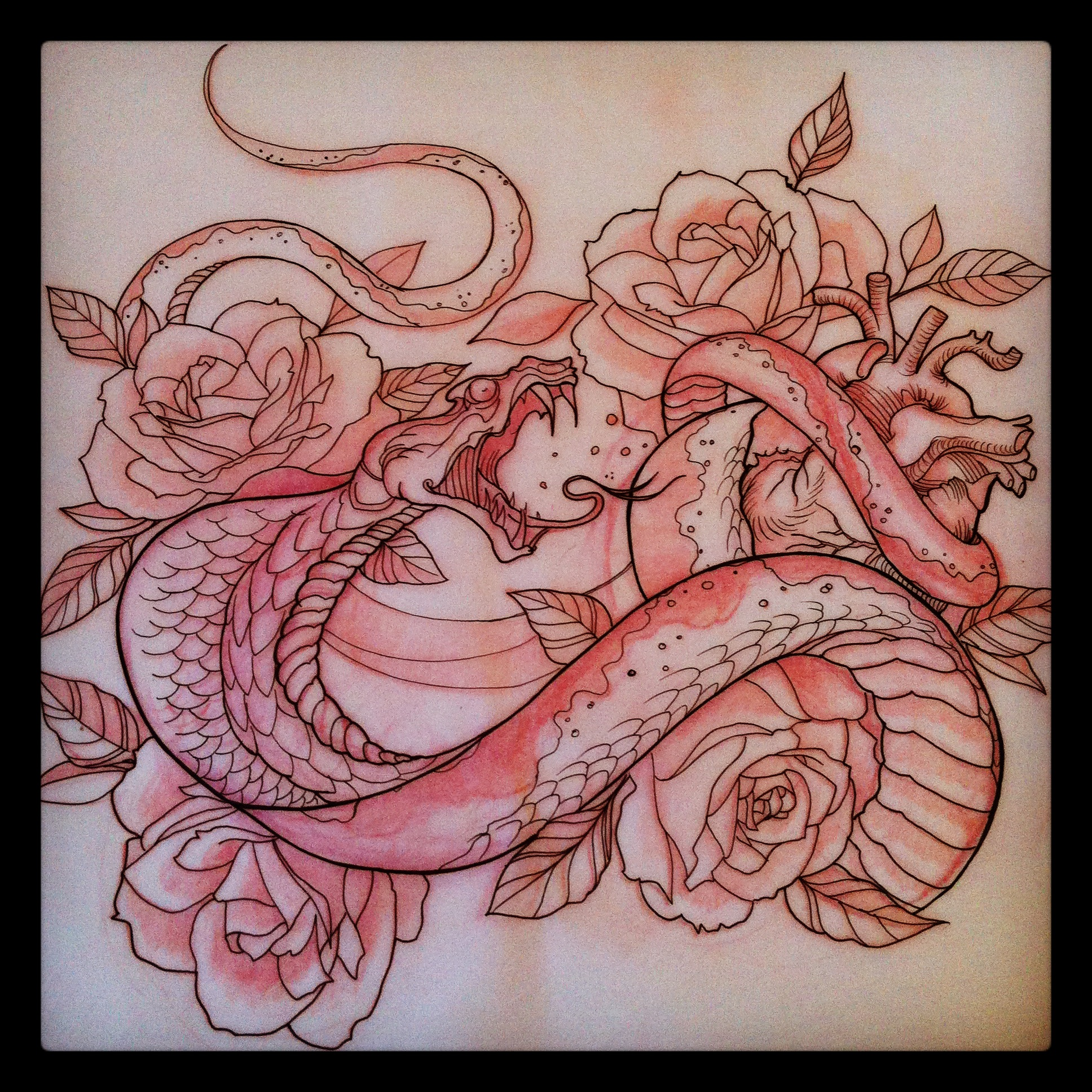 Cobra drawing.