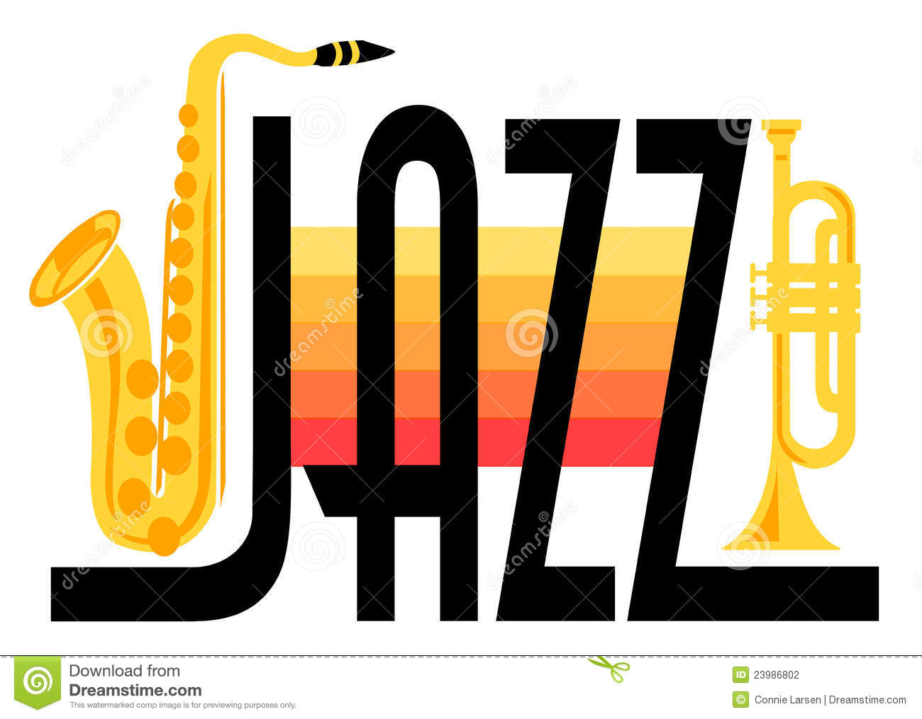 clipart jazz instruments - Clipground