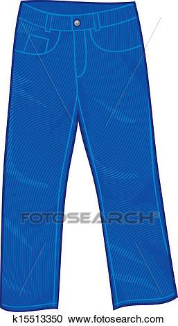 Jeans pants Clipart.