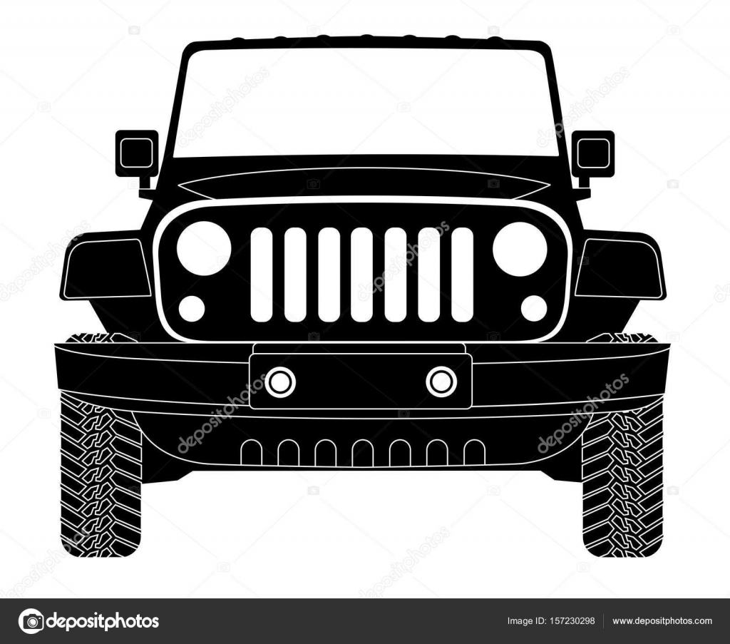 Clipart: jeep logo.