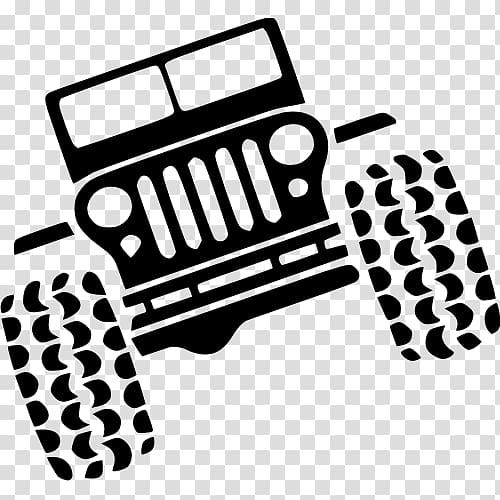 Jeep Wrangler Rubicon Car Silhouette, jeep transparent.