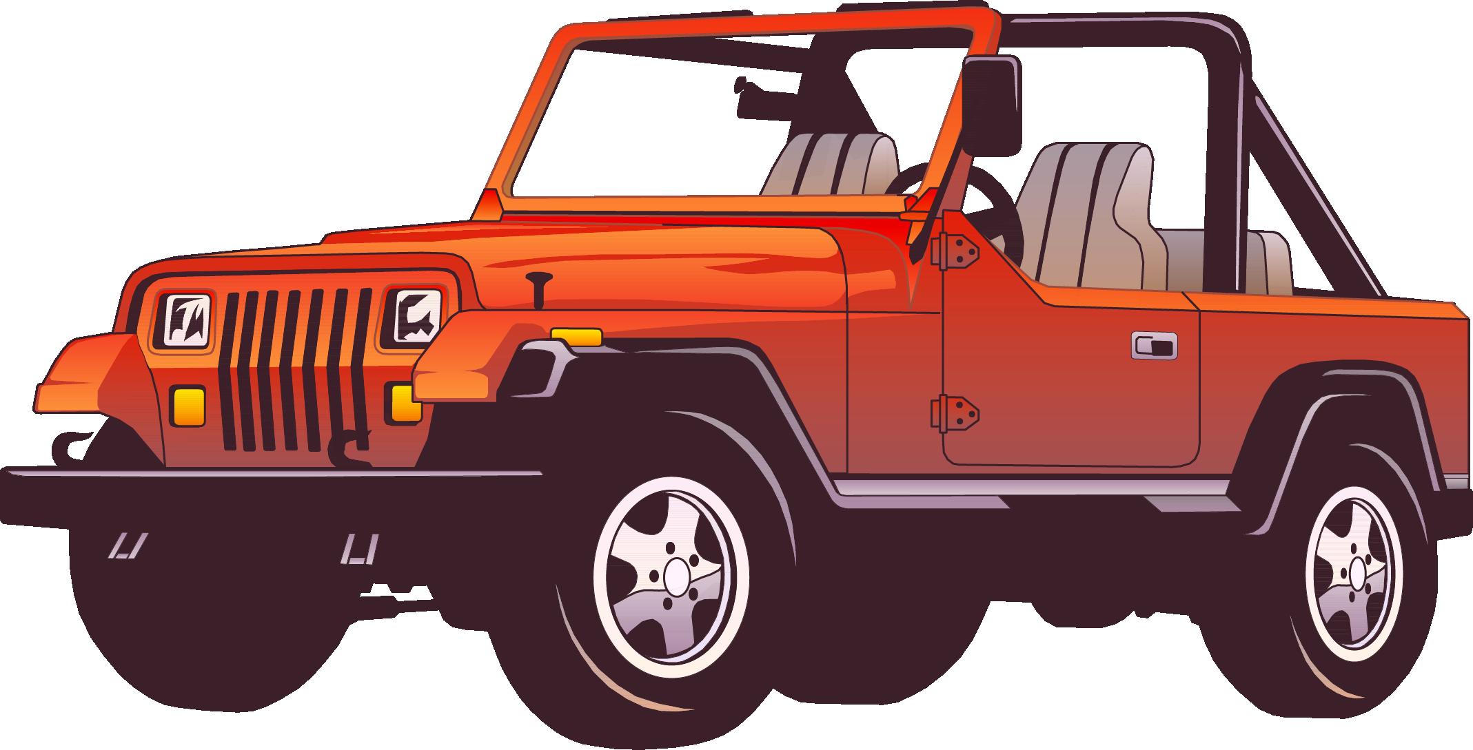 Jeep Wrangler Car Force Clip art.