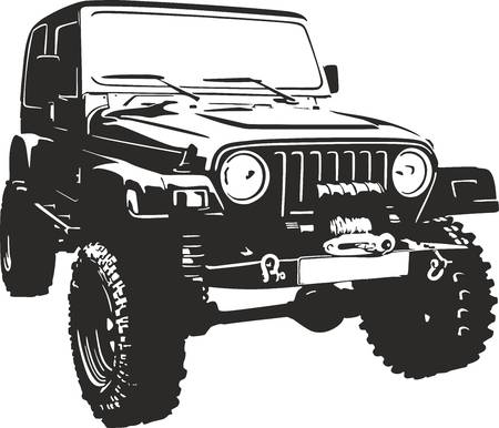 Free clipart jeep 1 » Clipart Station.