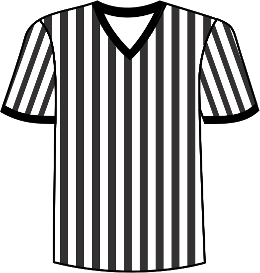 referee jersey football clipart.