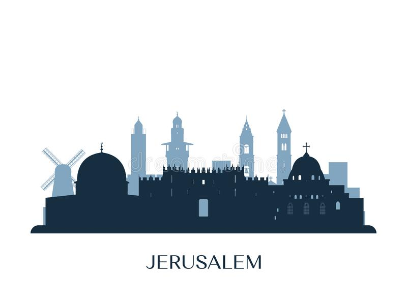 Jerusalem Stock Illustrations.