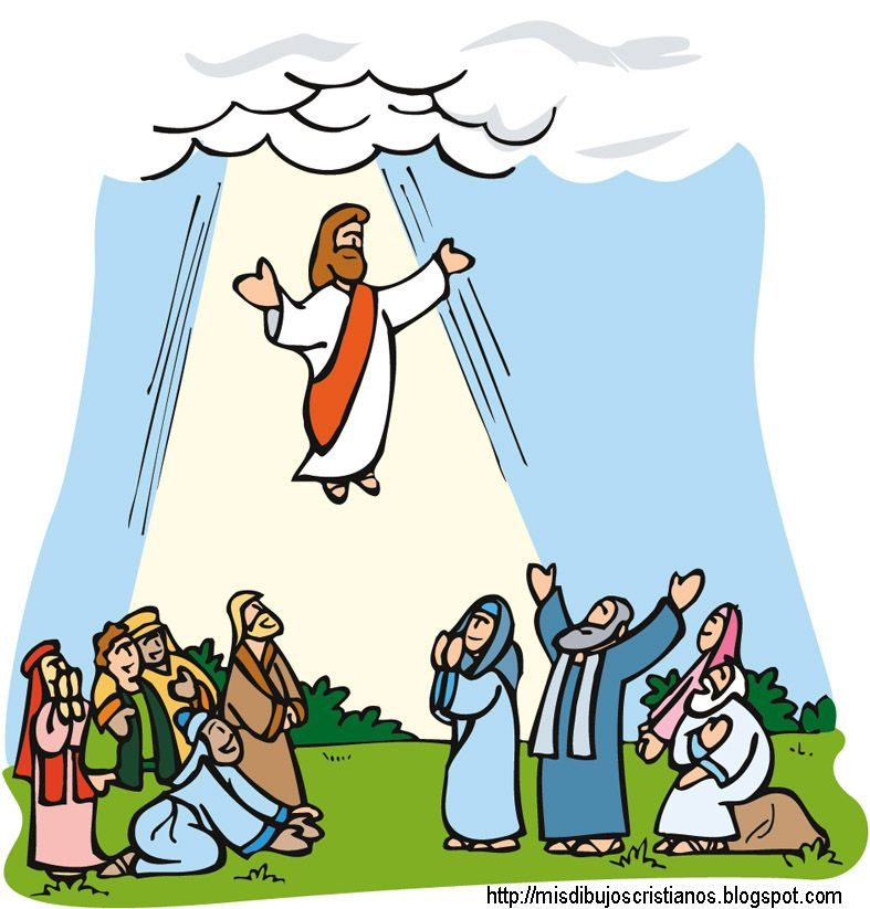 Jesus ascension clipart 9 » Clipart Station.