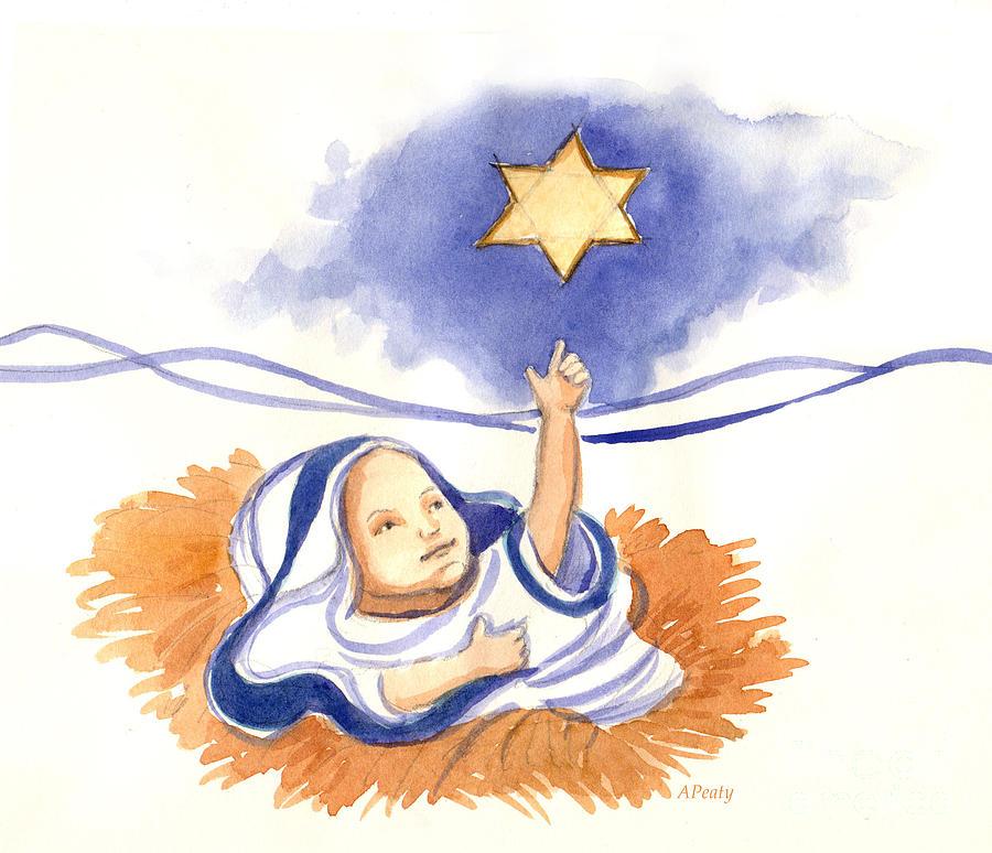 Baby Jesus Art.