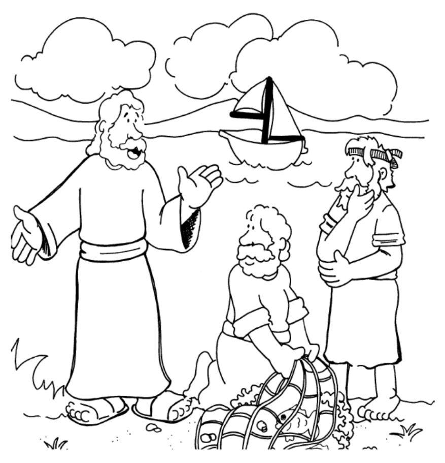 Jesus Calling Disciples Clipart Clipart Kid.