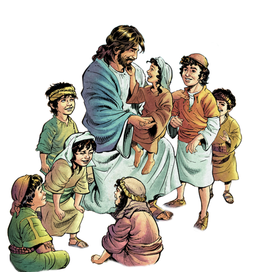Jesus With Children Clipart And Download.