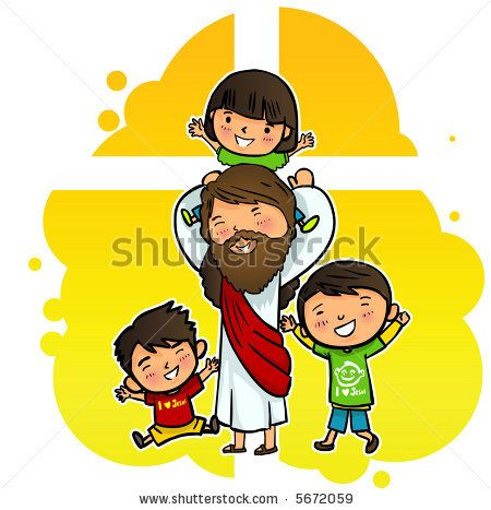jesus clipart for kids.