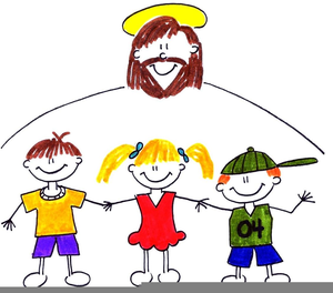Free Children Jesus Clipart.