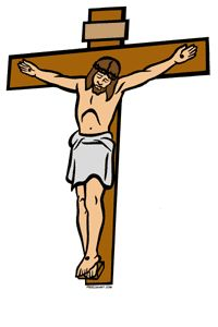 Jesus on The Cross Clipart images.