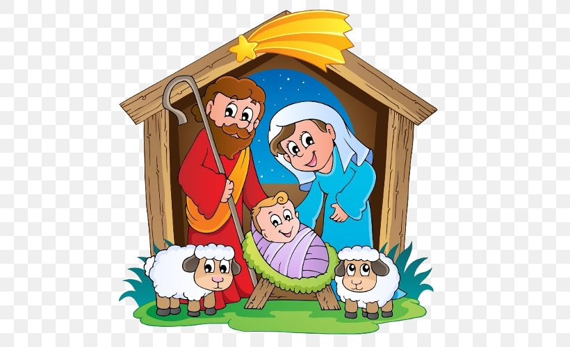 Nativity Scene Nativity Of Jesus Manger Clip Art, PNG.