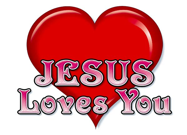 Clipart Jesus Loves You.