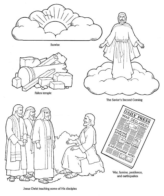 The Coming Of Jesus Christ Clipart.