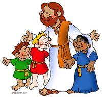 Jesus With Children Clipart.