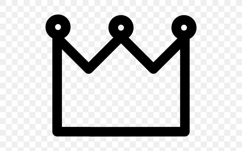 Crown Clip Art, PNG, 512x512px, Crown, Area, Black And White.
