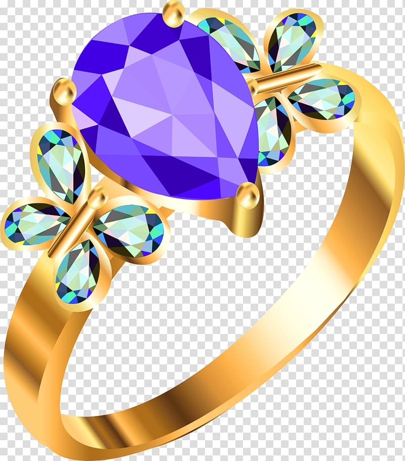 Wedding ring , Jewelry transparent background PNG clipart.