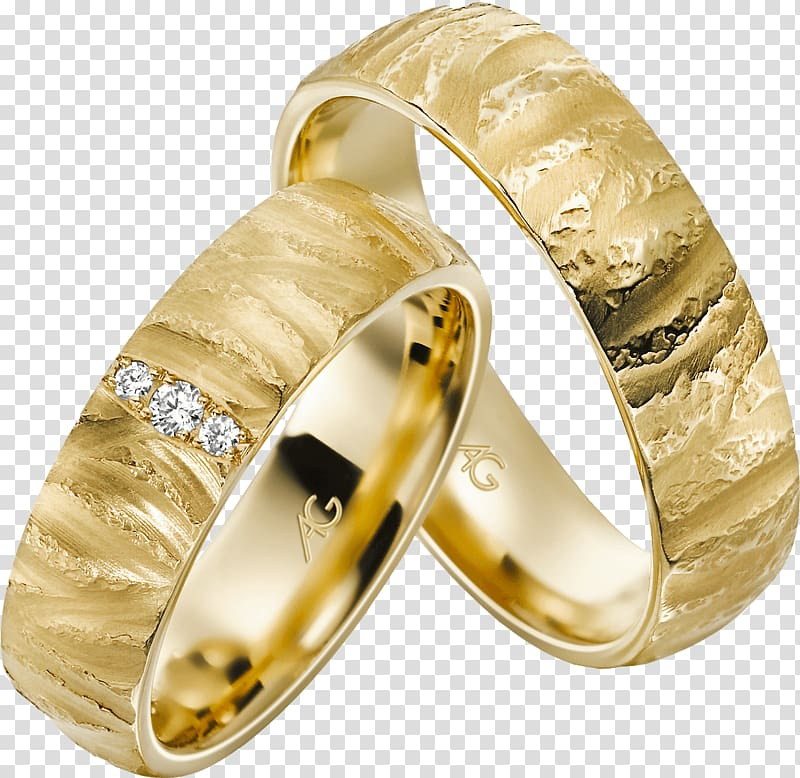 Wedding ring Gold Geel goud Jeweler, wedding ring.