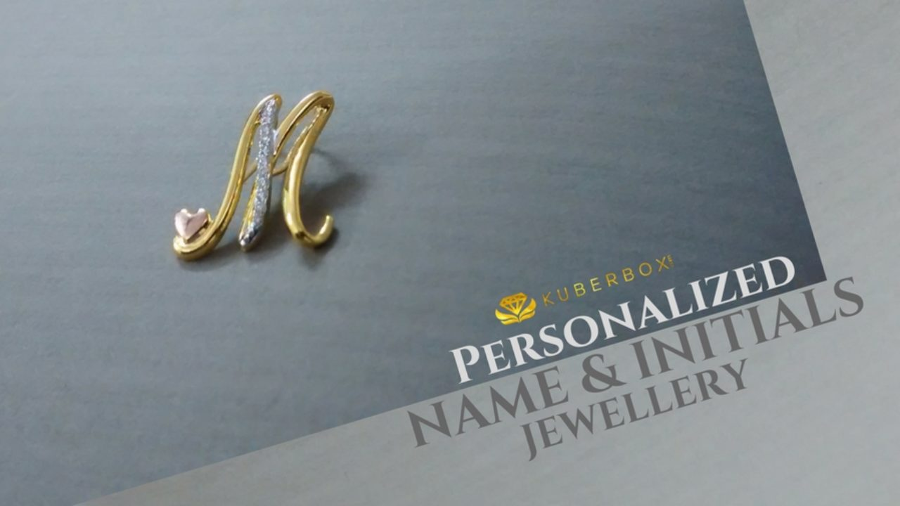 100+ Name & Initials Jewellery Designs + Custom.