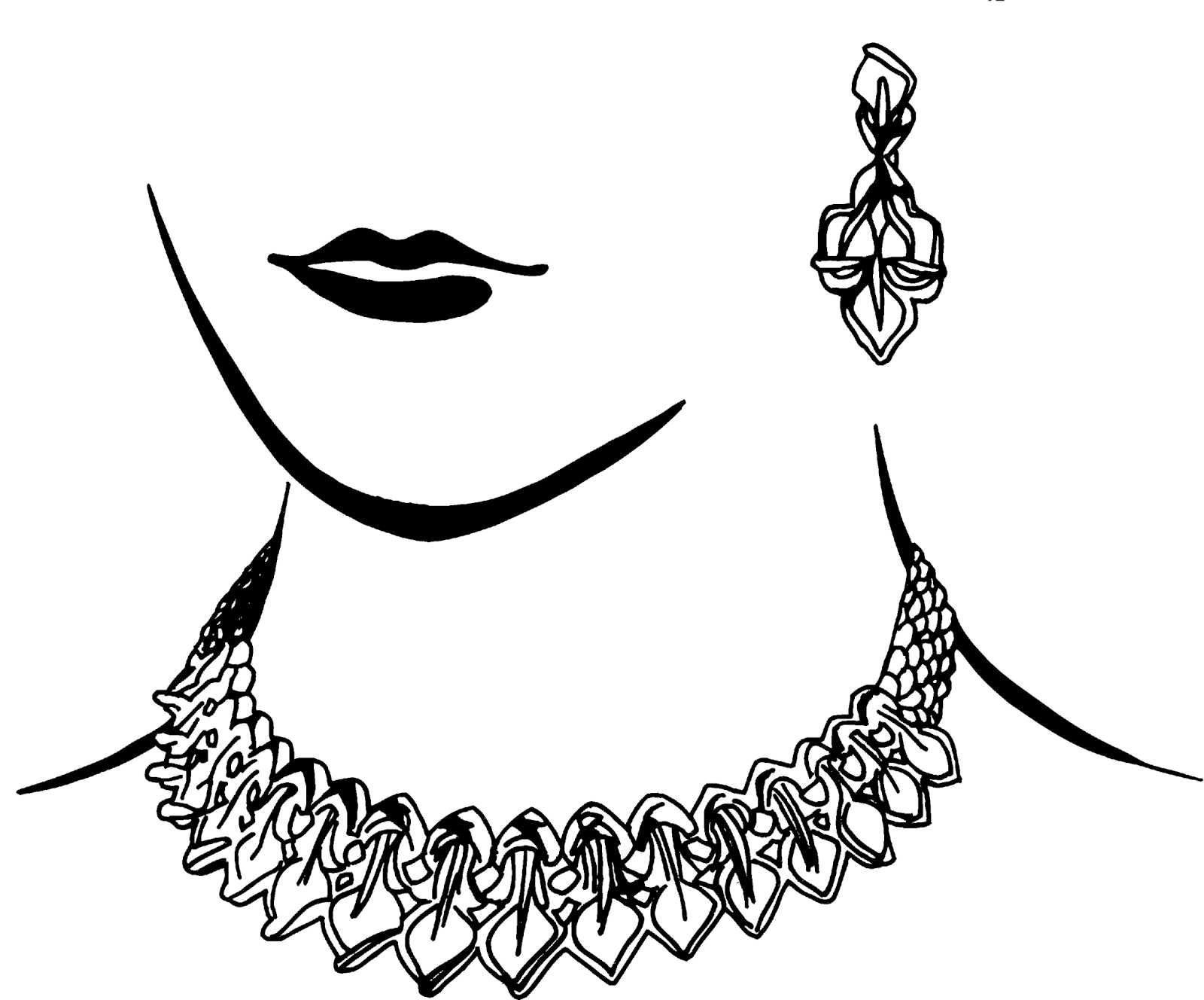 Indian Jewellery Clipart.