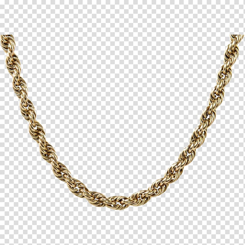 Necklace Gold Jewellery chain Jewellery chain, chain.
