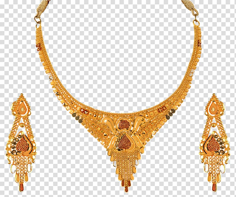 Earring Gold Jewellery Necklace Jewelry design, Jewellery.